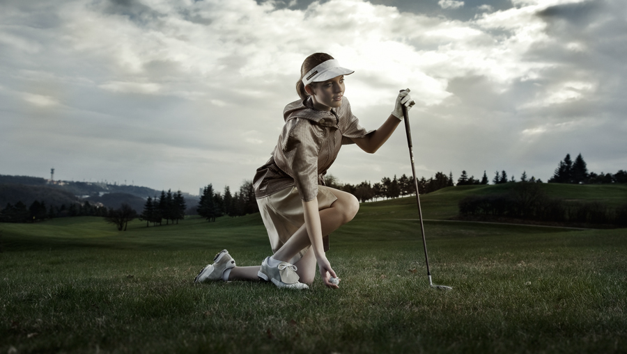 Kamila Vodochodska ,, golf collekcion 2010 ,,